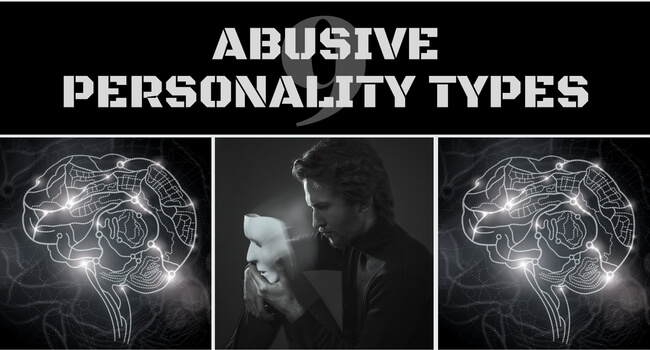 Abusive personality signs