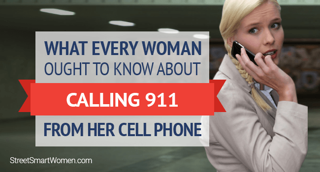Woman in danger calling 911