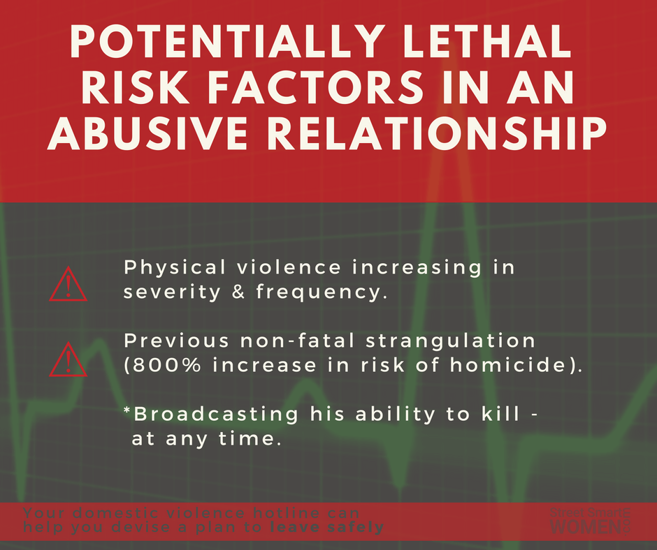 the warning signs of domestic abuse and how to leave an abusive relationship It is important to notice and acknowledge early warning signs of domestic violence and abuse  am i in an abusive relationship  to commit suicide if you leave.